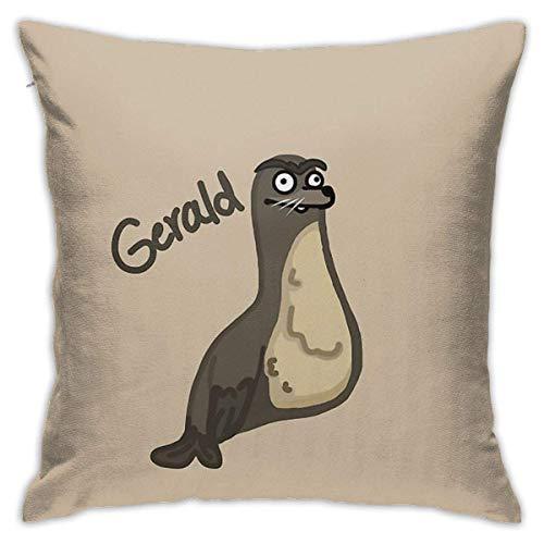 Sli8zhen Gerald Finding Dory, federa decorativa per cuscino per divano e camera da letto, 45,7 x 45,7 cm