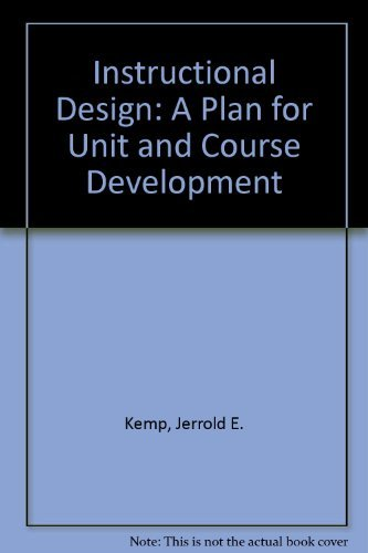 Download Instructional Design: A Plan for Unit and Course Development 0822439204