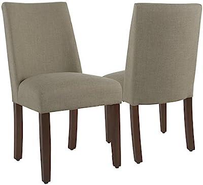 Amazon.com: Giantex 2 pcs Parson silla de comedor sala de ...