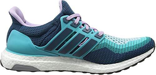 adidas Ultra Boost Damen Laufschuhe, Green (Clear Green S12/Mineral S16/Purple Glow S16), 37 1/3 EU