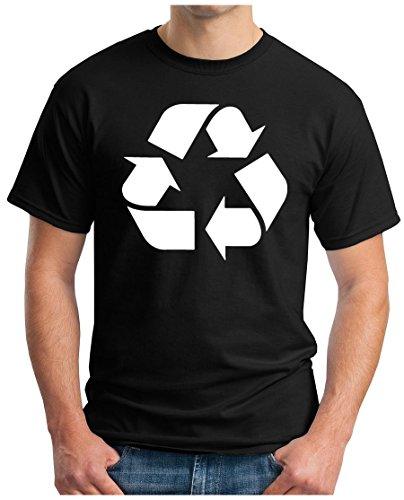 OM3 – Big Bang – Recycle-WS – Camiseta reciclada Logo Leonard Nerd Atom Kitty Sarcasm Sitcom TBBT Parody Geek, S – 4XL Negro L