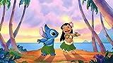 Lilo Y Stitch Puzzle Madera 1000 Piezas Para Adultos Rompecabezas, Intelectual De Descompresión,Juguete Educativo, Regalo De Cumpleaños, 75 * 50 Cm