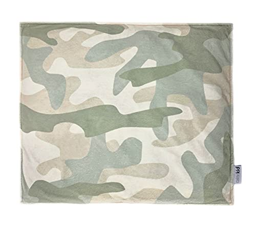 Calmr Kid Weighted Lap Pad for Kids - Sensory Weighted Lap Blanket for Kids 5 lbs 19x22 inches Portable for Back to School with Removable Washable Cover and Laundry Bag (Calmr Camouflage)