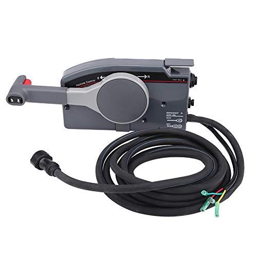 Duokon besturingsbox zijdelings monteerbaar voor boten, afstandsbediening voor buitenboordmotor met 10 pins voor F25ELHA (OEM: 703-48205-16)