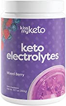 Kiss My Keto Electrolyte Powder — Mixed Berry, Keto Electrolyte Supplement (90 Servings)   Refreshingly Fruity, Keto Electrolytes Hydration Drink Mix   Zero Carbs, Zero Calories, Sugar Free