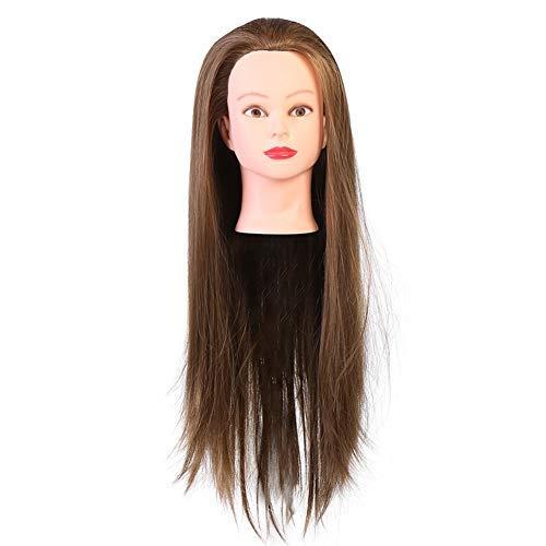 Mannequinkop, professionele shaarcosmetica-kappers-mannequin-mannetjespop voor make-upborden salon-gereedschap