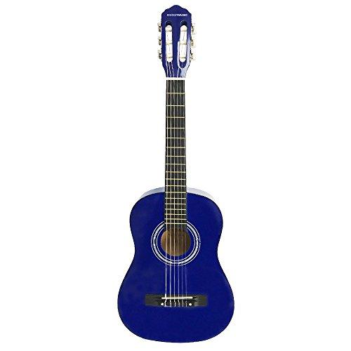 Rocket Music CG12BL - Guitarra clásica, color azul