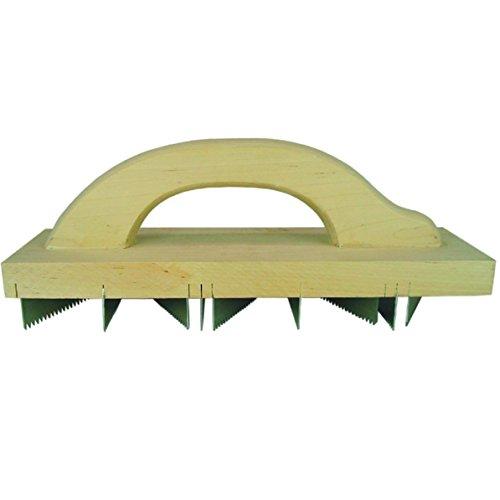 HaWe Porenbeton-Hobel mit 9 StahlklingenSpitzzahnung | LxB 400x90mm