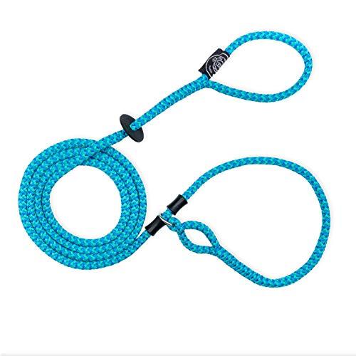 Harness Lead Escape Resistant Reduces Pull (Small/Medium, Blue Multi)