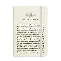 ビヴァリー・シルズによる経路についてのインスピレーションを与える引用 歴史ノートクラシックジャーナル日記A 5