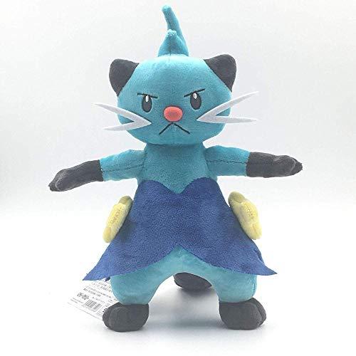 ypzz Peluche Pikachu Pokemon Doppio Taglio Pillole Lontra d'Acqua Evoluzione Soothe Doll Pillow Ultra-Soft