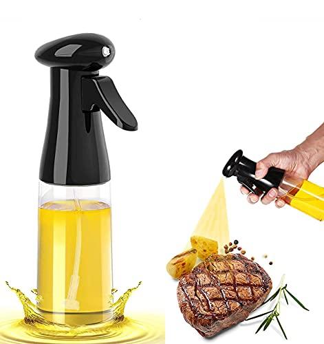 Oil Sprayer for Cooking,Olive Oil Sprayer,Oil Spritzer for Air Fryer,220ml Oil Spray Bottle for Cooking, Baking, BBQ, Grilling, Salad
