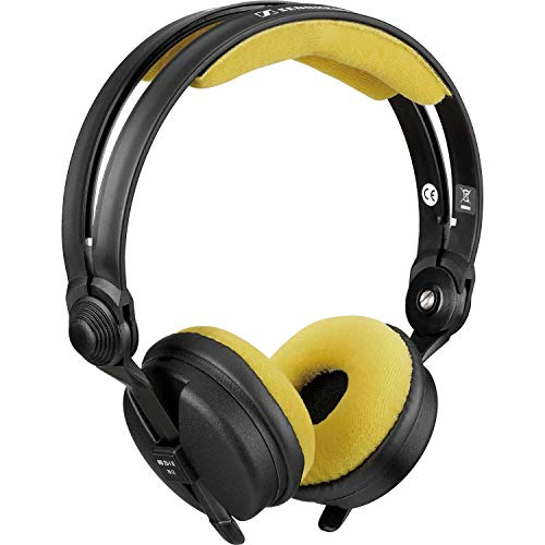 Zomo Mousse pour Sennheiser HD25 en Velour yellow