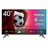Hisense 40AE5000F TV LED FULL HD 40', Bezelless, USB Media Player, Tuner DVB-T2/S2 HEVC Main10 [Esclusiva Amazon - 2020]