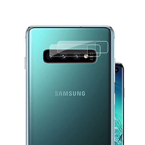 G-Color Protector Cámara/Cámara Trasera Lente Galaxy S10/S10+/S10 Plus, [2 Unidades], [Alta definición] [2.5D 0.2mm] [9H de Dureza] Cristal Vidrio Templado para Samsung Galaxy S10/S10+/S10 Plus