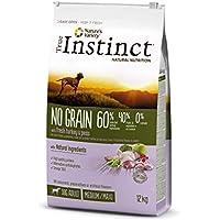 True Instinct No Grain - Comida con pavo para perros adultos, 12 kg