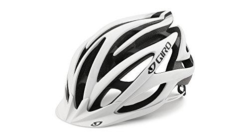 Giro Casco de Bicicleta Unisex Fathom, Todo el año, Hombre, Color Varios Colores - Mat White/Black, tamaño Medium