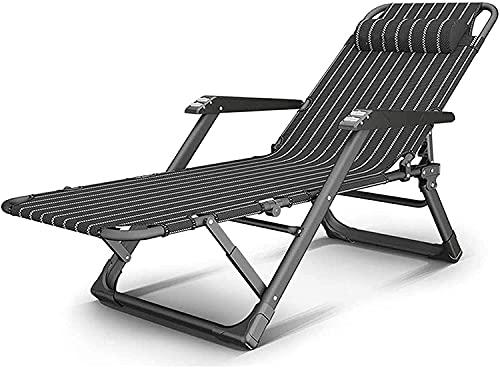 Reclinación Sillas plegables al aire libre Silla de mesa Silla de cubierta...