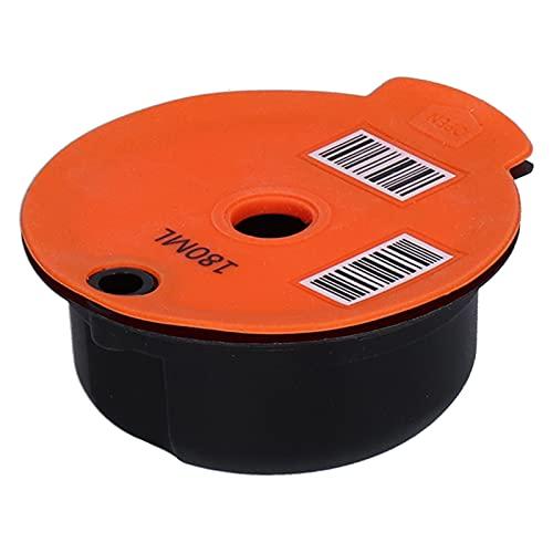 Capsule Cialde, Capsule Cup Ecologiche Riutilizzabili per La Casa(Arancia 180ML)