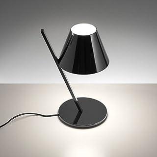 Artemide La Petit - Lámpara de mesa (aluminio, 25 x 19,4 x 37 cm), color negro