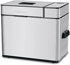 Cuisinart CBK-100FR 2-Pound Programmable Breadmaker (Renewed), Brushed Chrome, Silver