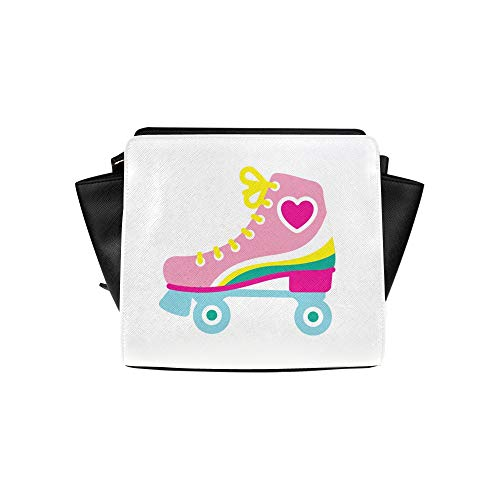 Fun Shoulder Bag Sports Roller Skate Shoes Satchel Bag Crossbody Bags Travel Bags Duffel Shoulder Bags Luggage For Lady Girl Women Best Crossbody Bags