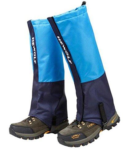 Black Temptation Randonnée/Escalade/Camping/Ski Chaussures Gaiter pour Adultes- L