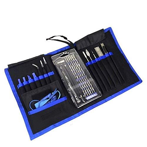 LLKK Juego de destornilladores 75 en 1 Kit de herramientas de reparación de destornilladores de precisión profesional herramienta extraíble para consola de juegos de teléfono