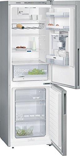 Siemens KG36WXL30S iQ500 Kühl-Gefrier-Kombination / A++ / 186 cm Höhe / 227 kWh/Jahr / 215 Liter Kühlteil / 94 Liter Gefrierteil / Water Dispenser