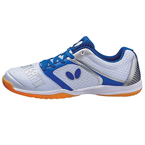 Butterfly Table Tennis Shoes , White, 4.5