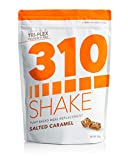 Plant Protein Powder and Meal Replacement Shake | 310 Shakes are Gluten and Dairy Free, Soy Protein and 0g of Sugar | Keto and Paleo Friendly | Includes Recipe eBook | (Salted Caramel, 28 Servings)