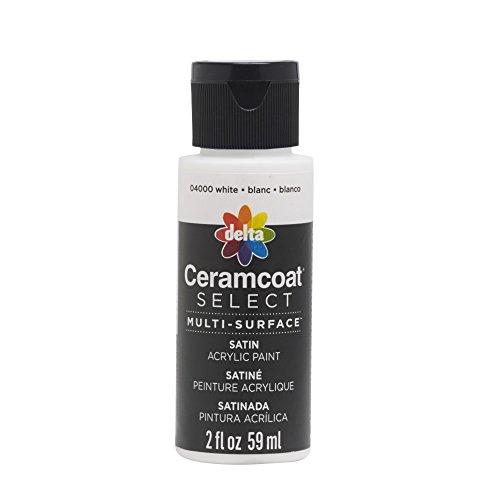 Plaid : Delta Ceramcoat Select Peinture Multi-Surfaces Blanc 15 ML