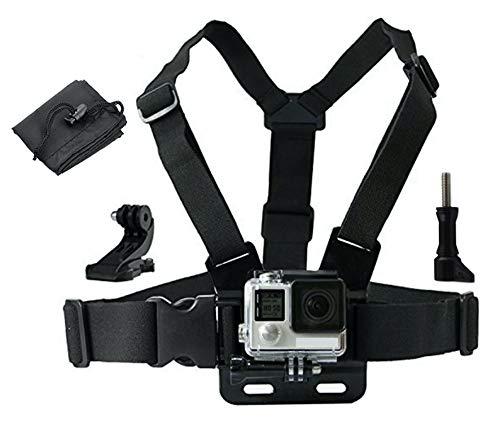LONDON FAB Arneses para cámaras de acción, compatibles con GoPro y Todas Las cámaras de acción. (arnés de Pecho)