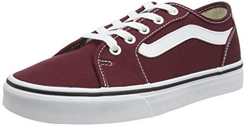 Vans Filmore Decon Suede, Sneaker Donna, Rosso ((Canvas) Port Royale/True White Mc0), 38 EU