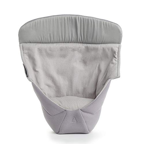 Ergobaby Cojín Bebé Easy Snug Cool Air, Cool Mesh Performance Gris, Medio