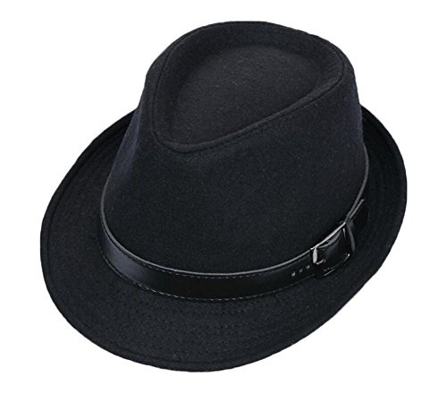 Black Temptation Schwarze Mode Homburg Hut Mode Hut