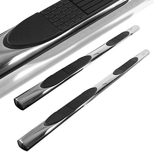 """S & T RACING INC for Dodge Ram 1500 Crew Cab 4"""" Oval Running Boards Nerf Side Step Bars Chrome SS"""
