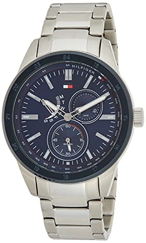 Tommy Hilfiger Men's Analogue Quartz Watch with Stainless Steel Strap 1791640