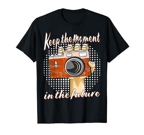 Foto Fotografía Cámara Selfie Imagen Fotografiando Futuro Camiseta