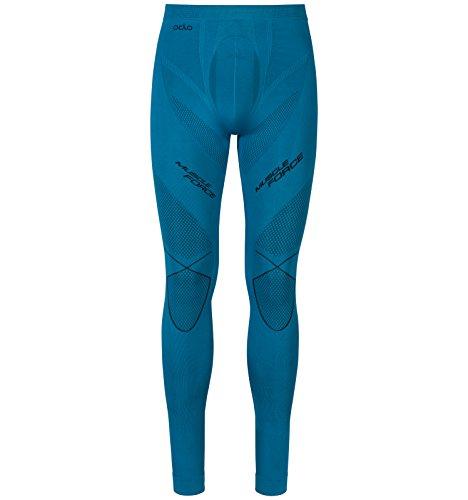 Odlo Muscle Force Evolution Warm Base Layer pour Femme Thermique Underwear XL Seaport - Black