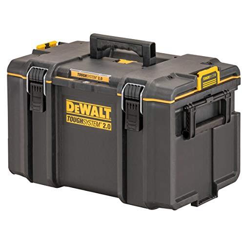 Dewalt DS400 Werkzeugbox DWST83342-1 (ToughSystem 2.0, große Werkzeugbox für allgemeinen Einsatz, IP65 - staubdicht und spritzwassergeschützt, max. Traglast 50kg)