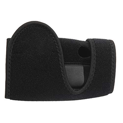 RUIVE Handorthese, Protector Schiene Handgelenk, Arthritis-Sehnenentzündung, verstauchter Karpaltunnel stabil leicht, atmungsaktiv, schwarz - Linke Hand