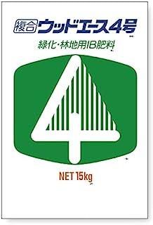 ウッドエース 4号 12-6-6-2 15kg 植林 緑化 用 IB肥料 成型肥料 ジェイカムアグリ タ種 代不個人店入れ