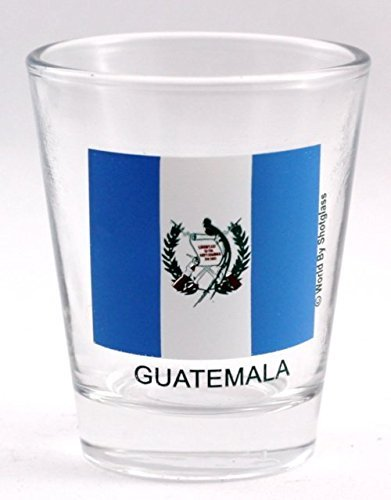 Guatemala Flagge Shot Glas