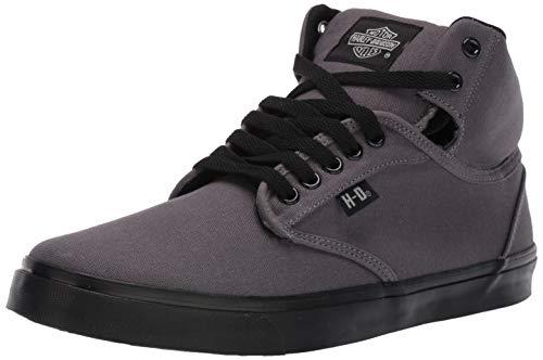 HARLEY-DAVIDSON FOOTWEAR Men's Wrenford Sneaker, Grey, 10.0 M US