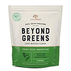 """NOT YOUR AVERAGE """"GREEN"""" DRINK: Conscious meets clinical in this superfood blend that transcends the rest. Our mystic mix of echinacea, rhodiola, milk thistle, probiotics, and mushrooms help support a healthy immune system, harmonious gut health, who..."""