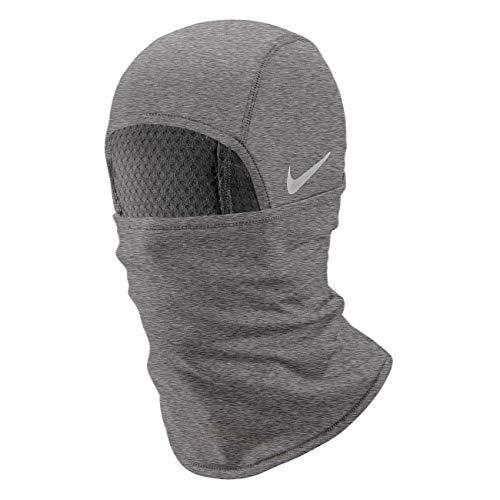 Nike Unisex– Erwachsene Run Therma Sphere 3.0 Sturmhaube, Iron Grey Heather/Grey Fog/Silver, One Size