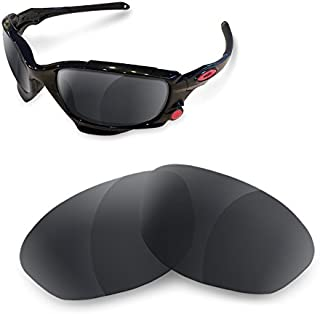sunglasses restorer Lentes Polarizadas de Recambio Black Iridium para Oakley Racing Jacket