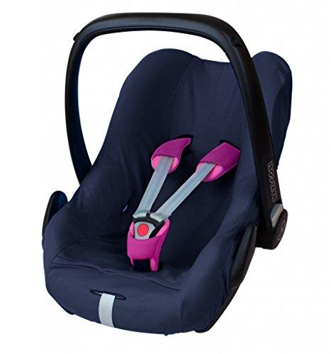 ByBoom - Universal Sommerbezug, Schonbezug aus 100% Baumwolle, für Babyschale, Autositz, z.B....