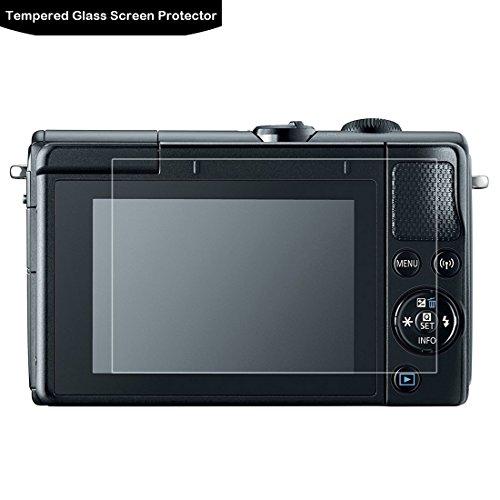 Canon EOS M100 Tempered Glass Screen Protector - LOKEKE LCD Screen protector voor Canon EOS M100 / M6.0.3mm Dikte, Gemaakt van echt glas